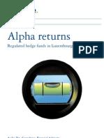 Lu_alpha Regulated Hedge Funds Returns_04062009