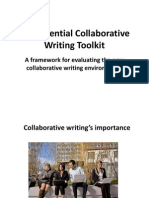 The Essential Collaborative Writing Toolkit