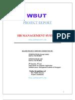 HR Management System Project