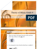 Grade 4 Lessons 17 Clef Strings Italian Terms