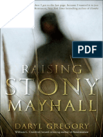 RAISING STONY MAYHALL by Daryl Gregory, Excerpt