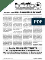 Opcion Obrera 20 Abril - Mayo