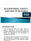 Occupational Safety and Health in Ghana[1][1]