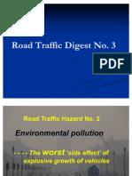 Road Traffic Digest 3