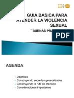 Guia Basica Para Atender La Violencia Sexual
