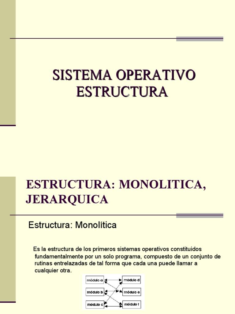 8747314 Sistema Operativo Estructura