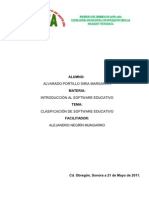 Clasificacion de Software Educativo