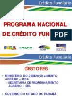 Programa Nacional de Credito Fundiario