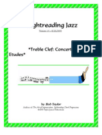 !Sight Reading Jazz c Etudes