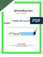 !Sight Reading Jazz c Etudes