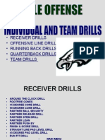 Offensive Drill Steam Position