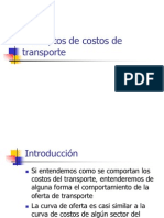 Conceptos de Costos de Transporte