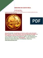 Rueda de La Medicina en Costa Rica
