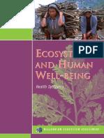 Ecosistemas y El Ser Humano