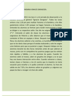 Diario de La Sec Und Aria Ignaco Zaragoza