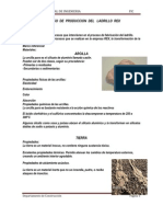 Proceso de Produccion Del Ladrillo Rex