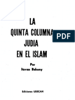 La quinta columna judia en el Islam por Itsvan Bakony