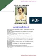 O Elixir da Longa Vida - Honoré de Balzac-www.LivrosGratis
