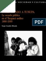 Chilenizando a Tunupa. La escuela pública en el Tarapacá andino 1880 - 1990