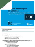 El Recurso Eólico de Canarias y su uso para la valoración de parques eólicos en Canarias