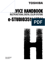 Toshiba E-STUDIO 3511-4511 Service Handbook