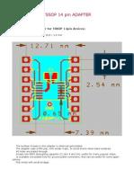 Tssop14 Adapter
