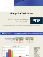 MCS 3 Year Crime Statistics Presentation