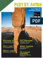 17. Filmfest St. Anton Programmzeitschrift