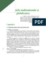 Corporatiile Multi Nation Ale Si Globalizarea
