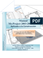 Manual Microsoft Project 2003-2007-2010 - AVISO