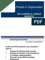 Hr Planning & Labour Markets