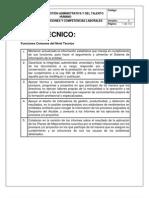 3. Manual de Funciones Nivel Tecnico