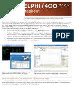 Delphi400 for PHP Datasheet Eng