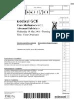 C1 June 2011 Official Paper