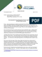 Environmental Groups Challenge PLF's Delta Smelt Impacts