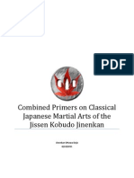 Combined Primers on Classical Japanese Martial Arts of the Jissen Kobudo Jinenkan