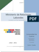PNBV - Ministerio de Relaciones Laborales