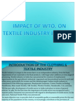 19342162 Impact of WTO on Textile Industry in India
