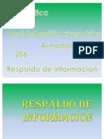 RESPALDO DE INFROMACION