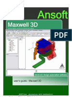 Ansoft Maxwell v11 Userguide