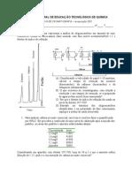 Prova de Cromatografia (Coluna de Fase Reversa)