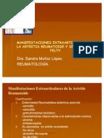 Manifestaciones Extraarticulares de La Artritis Reumatoide y Sindrome