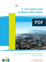 Low Carbon Resilient Urban Future