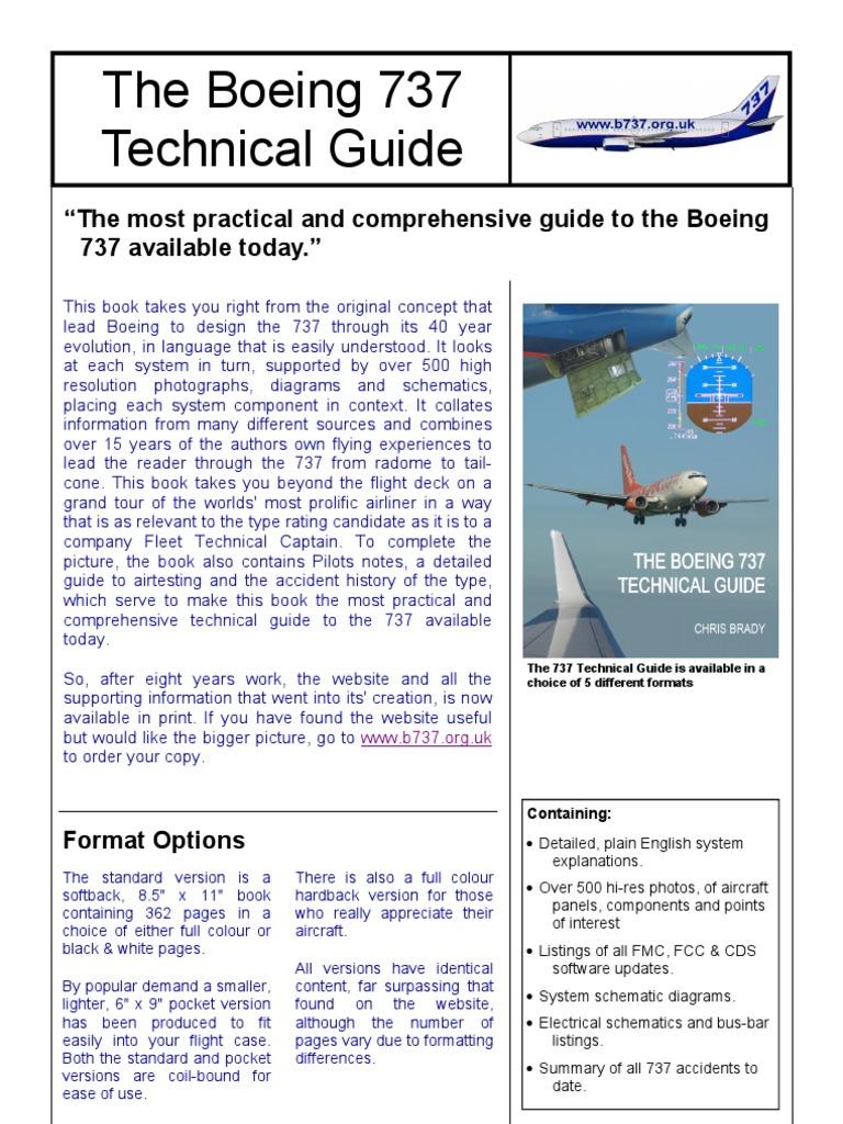 boeing 737 guide boeing aviation rh pt scribd com the boeing 737 technical guide the boeing 737 technical guide for sale