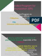 Expanded Program for Immunization (EPI)