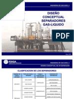 Diseño Conceptual Separadores Gas-Liquido