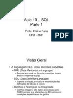 Aula10gbd SQL Parte1