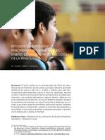 WALTER Estudios de reincidencia fenómeno a estudiar para el
