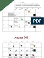 Calendar 2011 1