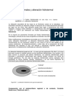 Fluidos y Alteracion Hidrotermal